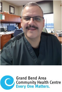 michael callihoo, respiratory therapist from gbachc who comes to bafht twice per month starting july 2, 2019