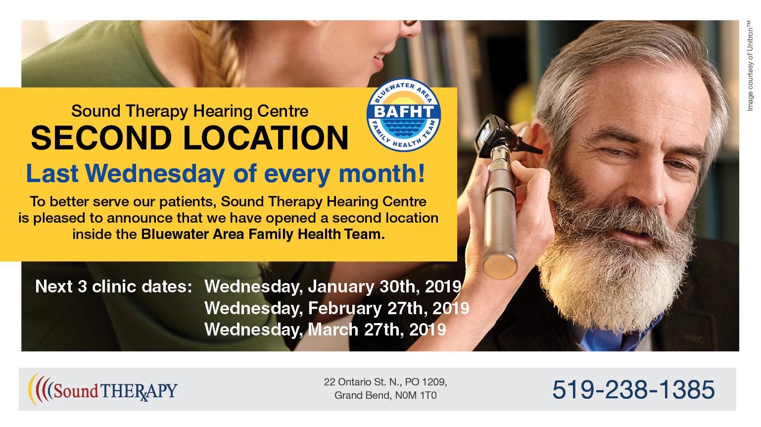 Sound Therapy Hearing Centre at BAFHT